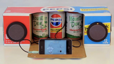 Pepsi MacGyvers A Case Of Soda Into A Boombox For SXSW | The Jazz of Innovation | Scoop.it