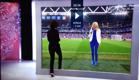 French TV's visual effects mind-blowingly mimic teleportation at Euro 2016 | Making end user experience better, faster, secured: web, mobile, games consoles, OTT global delivery, Internet Of Things | Scoop.it