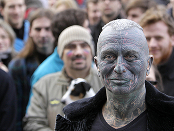 Tattoo-covered professor may play kingmaker in Czech presidential election — RT | Global politics | Scoop.it