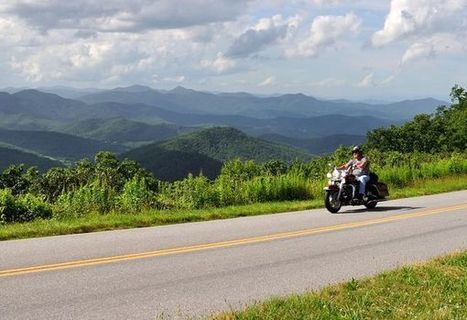 Top 10 Motorcycle Rides in the U.S. -- National Geographic | Motorcycle Rider Today | Scoop.it