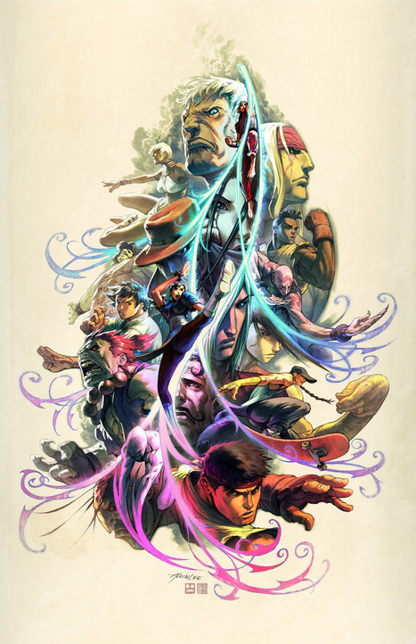 Art Gallery Of The Day: Street Fighter   VIDEO GAMES   Scoop.it