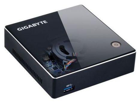 Gigabyte launches out BRIX mini PC - Fudzilla | MiniPC | Scoop.it