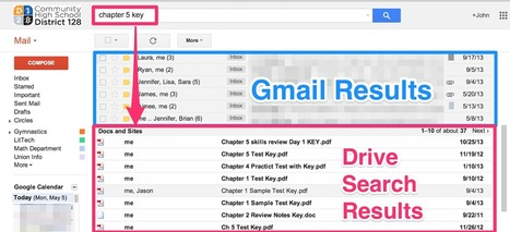 Searching Google Drive from within Gmail | Keep learning | Scoop.it