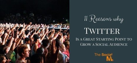 11 Reasons Why Twitter Is a Great Starting Point to Grow a Social Audience | social mojo | Scoop.it
