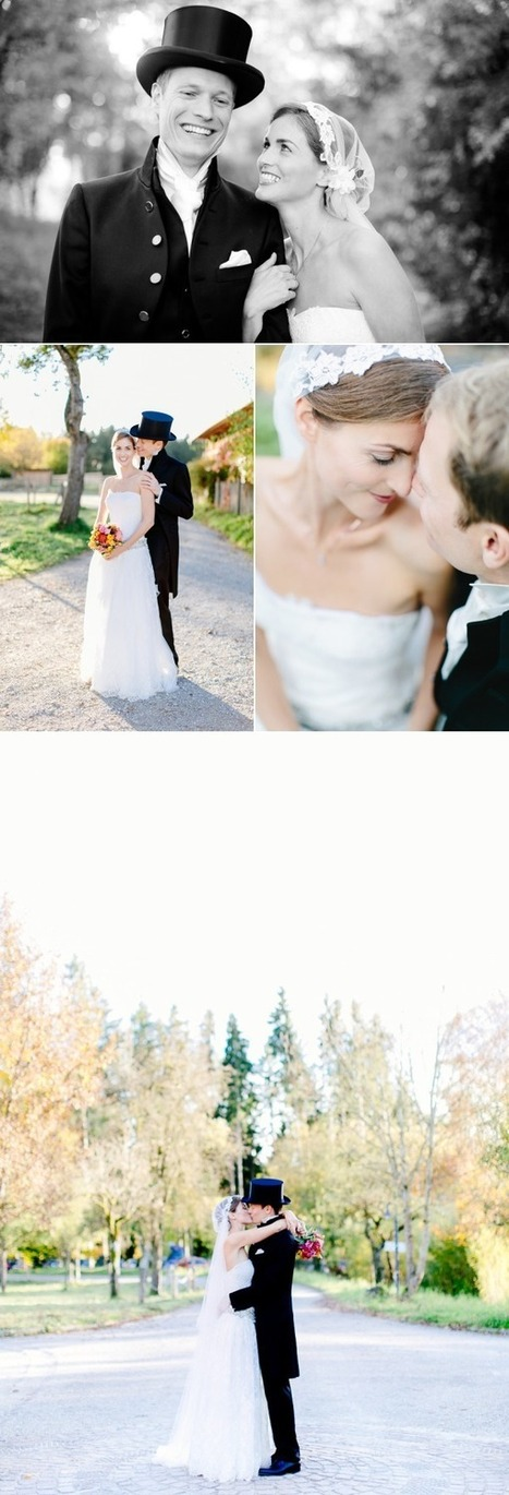 Colorful Fall Germany Wedding at Gut Sonnenhausen | Wedding Inspiration and Planning | Scoop.it