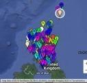 Poetry Map of Scotland poem 95: Gigha | paperart | Scoop.it