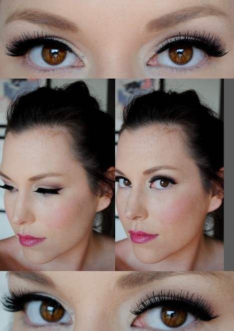 Tape trick-for perfect winged liner | Fashion N Style | Scoop.it