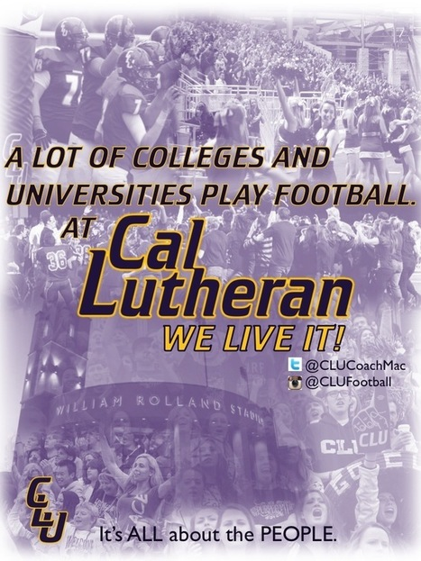 Photo | Cal Lutheran | Scoop.it
