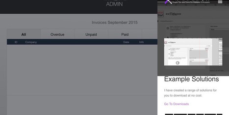 FileMaker Go iOS 9 Multitasking Support | FileMaker News | Scoop.it