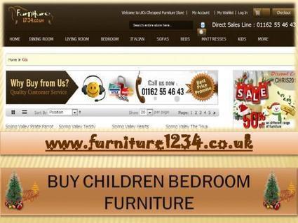 Buy Discount Kids Bedroom Furniture as Per Your Taste from Online Furniture Stor | Furniture1234 | Scoop.it