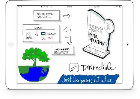 INKredible - APps para tomar notas | Educacion, ecologia y TIC | Scoop.it