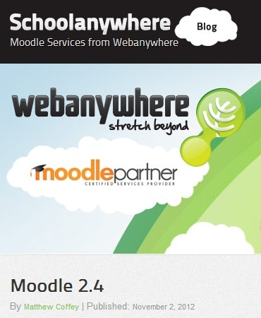 New tools in Moodle 2.4 | MoodleUK | Scoop.it