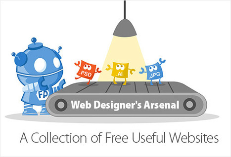 Web Designer's Arsenal: a Collection of Free Useful Websites | Wonderful World of the Web | Scoop.it