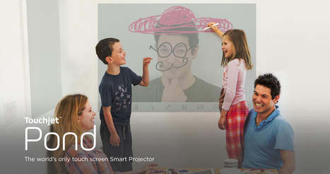 Touchjet Pond: The World's Only Touchscreen Smart Projector. | I'm Bringing Techy Back | Scoop.it