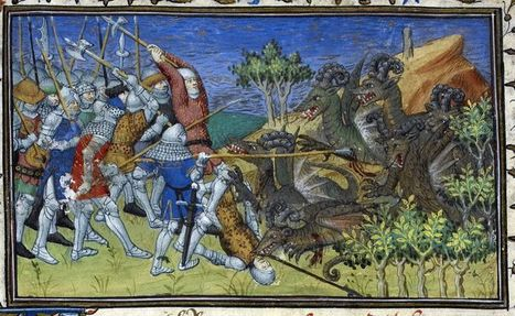 Medieval Manuscripts Depict The Taxonomy Of Dragons | Strange days indeed... | Scoop.it
