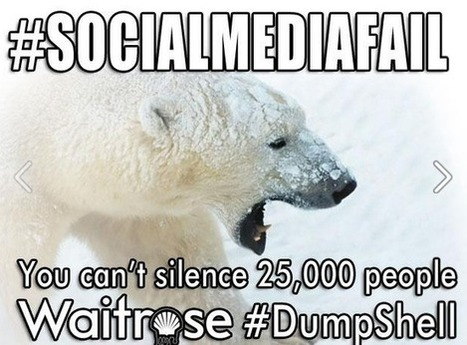 Greenpeace vs Waitrose - The Social Media Show Down #DumpShell | Harris Social Media | Scoop.it