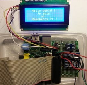 [EN] Raspberry Pi : using a 4×20 characters display | Hardware-Libre | Arduino&Raspberry Pi Projects | Scoop.it