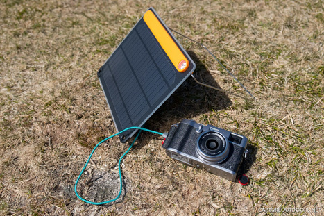 Charging the X100T with the Biolite SolarPanel 5+  | Fujifilm X | Scoop.it