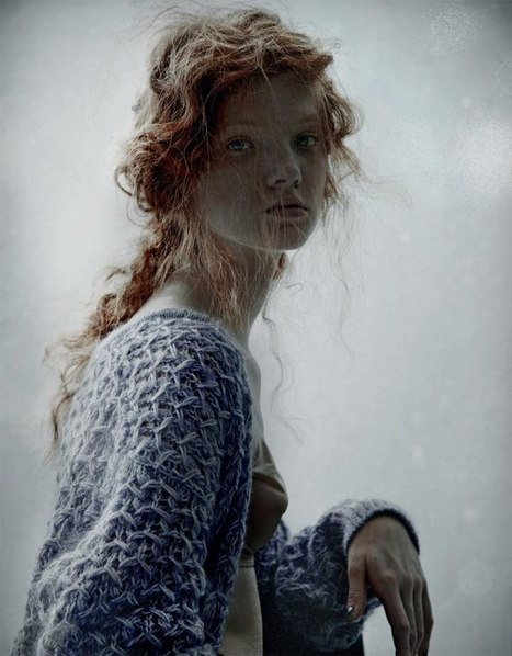 [souvenirs...] 'Bohemienne' | Anastasia Ivanova by Domenico Cennamo for Forget Them | Winter 2011 | CHICS & FASHION | Scoop.it