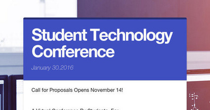 Student Technology Conference | Durff | Scoop.it