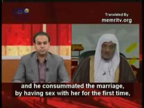 Islamic Scholar Confesses, Prophet Muhammad Had Sex With His 9 Year Old Wife Aisha | Race & Crime UK | Scoop.it