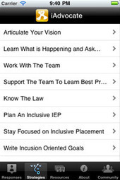 IEP Advocate in Your Pocket: Free App to Support ... - PrAACtical AACIEP | Communication and Autism | Scoop.it