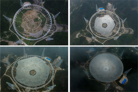 In pics: Installation process of world's largest #telescope in #China | Limitless learning Universe | Scoop.it