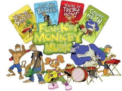 Fun Key Monkey Card Games: Play & Learn To Read Music | Crowdfunding & Singularity | Scoop.it