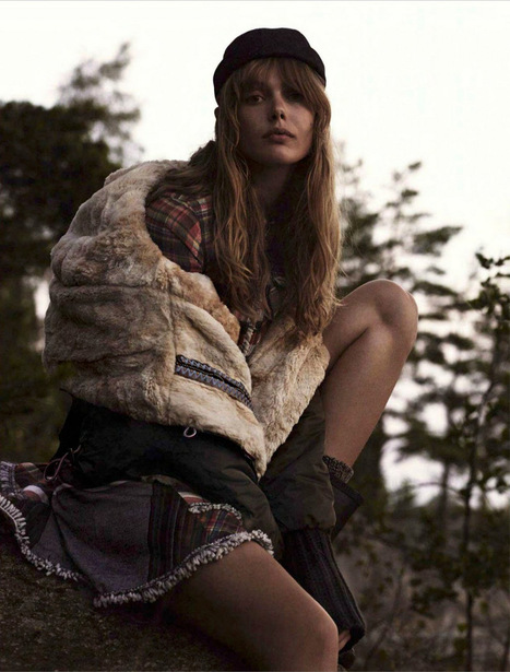 [editorial] 'Frida'   Frida Gustavsson by Stefan Heinrichs for Glamour France October 2014   Monica qb trend   Scoop.it