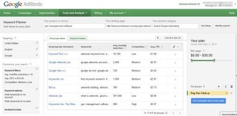Planificador de Palabras Clave o Keywords de Google | NOTICIAS DE SEO | Scoop.it