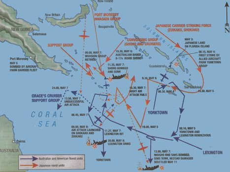 The Motions - Coral Sea | Battle of The Coral Sea | Scoop.it