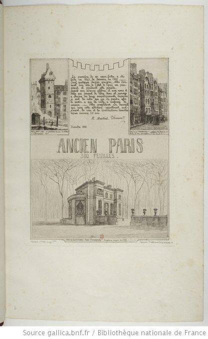 L'Ancien Paris de Martial Potémont | Gallica | GenealoNet | Scoop.it