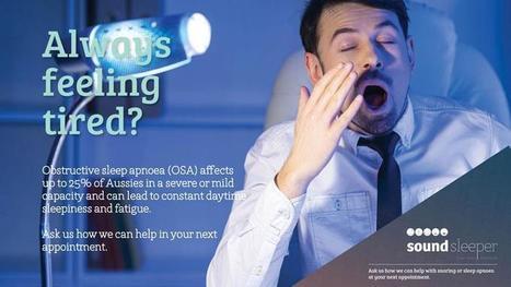 Snore No More – It is Easy | Healthy Smiles | HealthySmiles Dental Group | Scoop.it