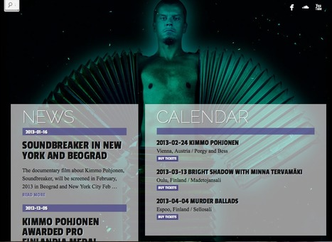 Kimmo Pohjonen | The Official Website | artesaniaflorae | Scoop.it