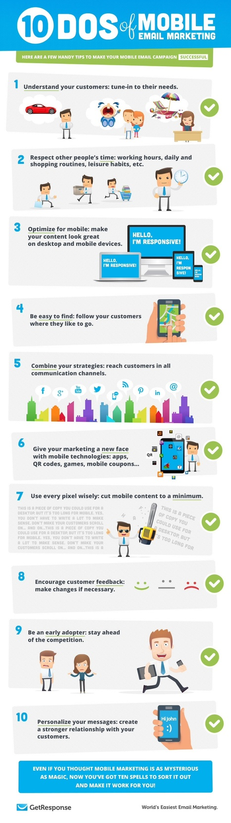 10 Tips for a Successful Mobile Email Campaign [Infographic] | content strategy | Scoop.it