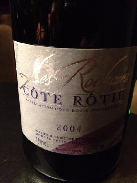 Twitter / JuanMHolgado: Les Rochains cote rotie 2004.. ...   Tourisme en pays viennois   Scoop.it