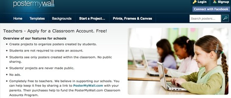 PosterMyWall | Classroom Accounts | English Language Teaching with Technology | Scoop.it