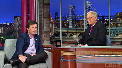 Michael J. Fox Inspires With Disruptive Philanthropy On Letterman [VIDEO] | Personal Branding Using Scoopit | Scoop.it