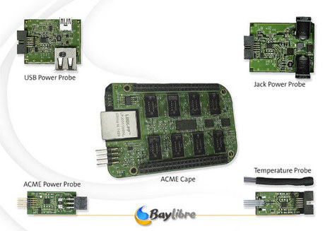 BayLibre ACME Cape for BeagleBone Black Measures Power and Temperature with Sigrok | Embedded Systems News | Scoop.it