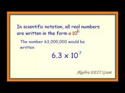 Scientific Notation | Love it ? Create your own | The 21st Century | Scoop.it
