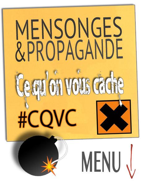 SANTÉ ● Ce qu'on vous cache #CQVC ● mensonges et propagande | MENU Santé Danger ! #CQVC | Scoop.it