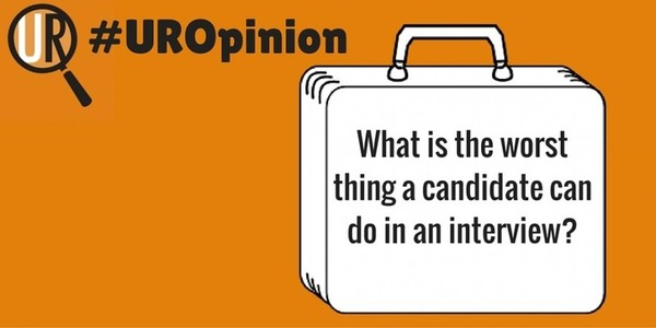 What is the Worst Thing a Candidate Can Do in an Interview? #UROpinion | Job Search Tips | Scoop.it