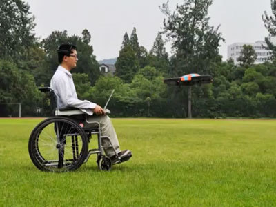 Think hard to fly: Chinese scientists unveil mind-controlled drone — RT | Sensor Machine Interfacing | Scoop.it