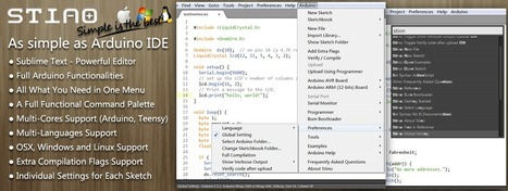Sublime Text as an Arduino IDE - Hack a Day | Arduino, Netduino, Rasperry Pi! | Scoop.it