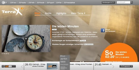 Learning with TV: Terra X - ZDF.de | Better teaching, more learning | Scoop.it