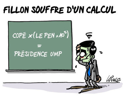 Fillon souffre d'un calcul | Baie d'humour | Scoop.it
