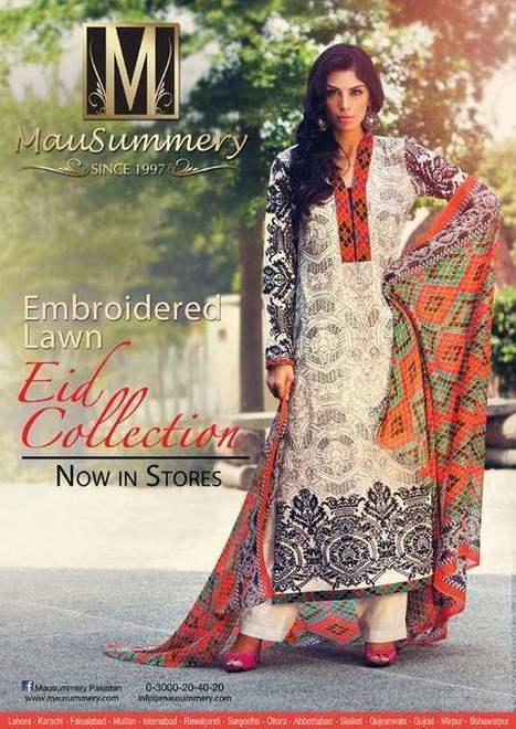 Mausummery  Stylish Dress Collection on Eid-ul-Adha  2013 (5) | fashion | Scoop.it