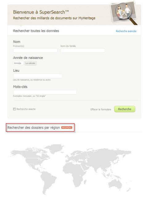 Nouvelle fonctionnalité : Rechercher des données historiques par lieu - MyHeritage.fr - Blog francophone | Rhit Genealogie | Scoop.it