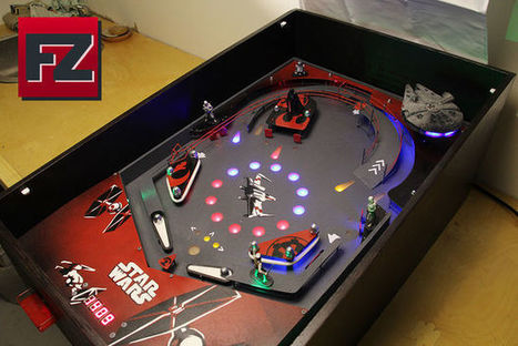 DIY Star Wars Pinball machine   Raspberry Pi   Scoop.it