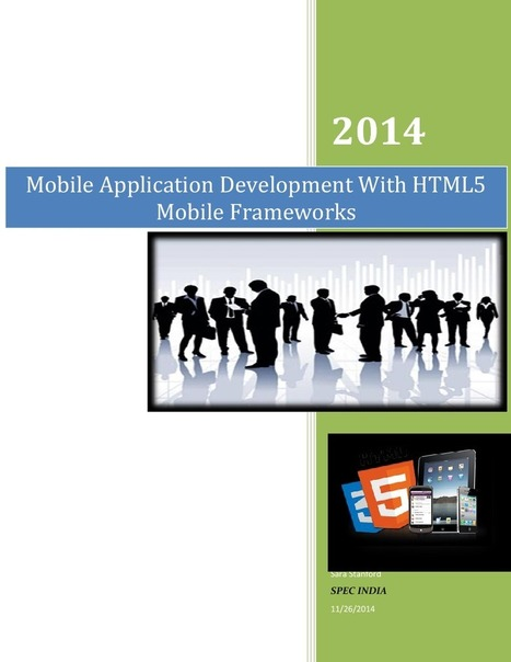 Mobile Application Development With HTML5 Mobile Frameworks | edocr | Java | Scoop.it